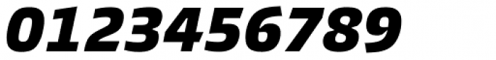 Burlingame Black Italic Font OTHER CHARS