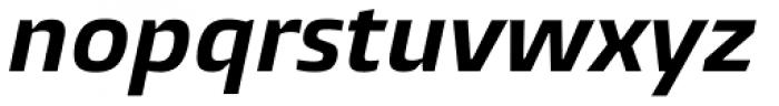 Burlingame Bold Italic Font LOWERCASE