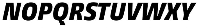 Burlingame Cond Black Italic Font UPPERCASE