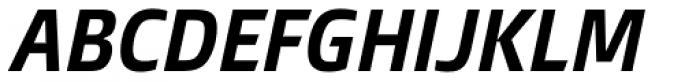 Burlingame Cond Bold Italic Font UPPERCASE