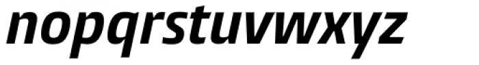 Burlingame Cond Bold Italic Font LOWERCASE