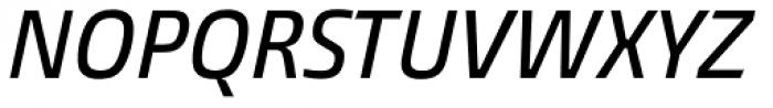 Burlingame Cond Medium Italic Font UPPERCASE