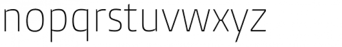 Burlingame Cond Thin Font LOWERCASE