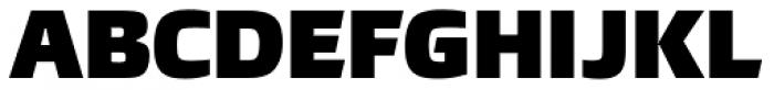 Burlingame ExtraBlack Font UPPERCASE