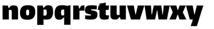 Burlingame ExtraBlack Font LOWERCASE