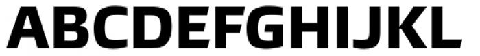 Burlingame ExtraBold Font UPPERCASE