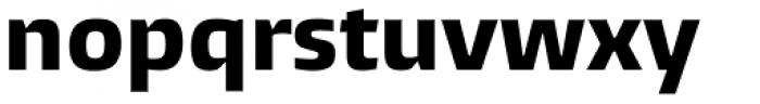 Burlingame ExtraBold Font LOWERCASE