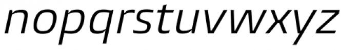 Burlingame Italic Font LOWERCASE