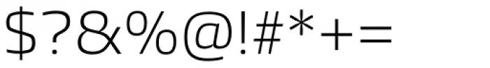 Burlingame Light Font OTHER CHARS
