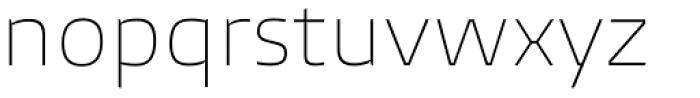Burlingame Thin Font LOWERCASE