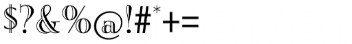 Burlington Font OTHER CHARS