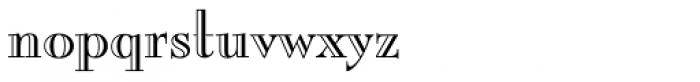 Burlington Font LOWERCASE