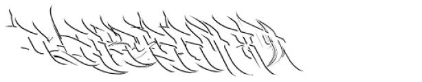 Burner Detail Font OTHER CHARS