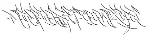 Burner Detail Font UPPERCASE