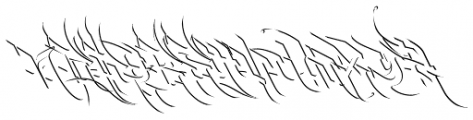 Burner Detail Font LOWERCASE