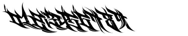 Burner Font OTHER CHARS