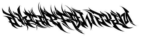 Burner Font LOWERCASE