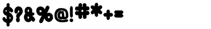 Burnt Toast Plain Font OTHER CHARS