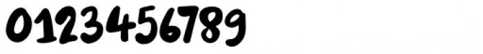Burobu Regular Font OTHER CHARS