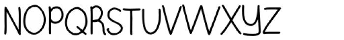 Burst My Bubble Pro Font UPPERCASE