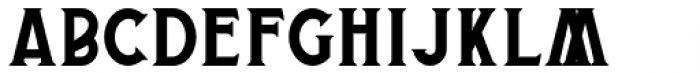 Buryland Serif Regular Font UPPERCASE
