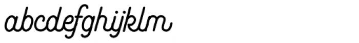 Bushcraft Bold Font LOWERCASE