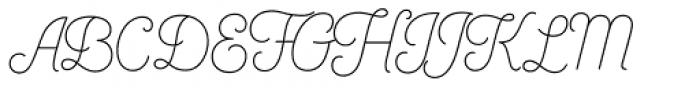 Bushcraft Light Font UPPERCASE