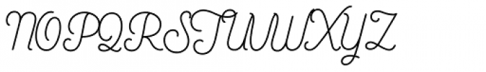 Bushcraft Pro Regular Font UPPERCASE