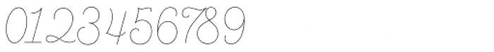 Bushcraft Pro Thin Font OTHER CHARS