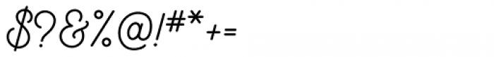 Bushcraft Semi Bold Font OTHER CHARS