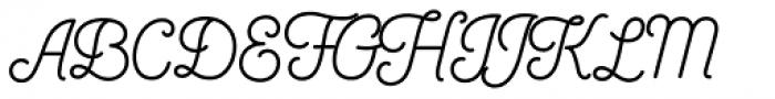 Bushcraft Semi Bold Font UPPERCASE