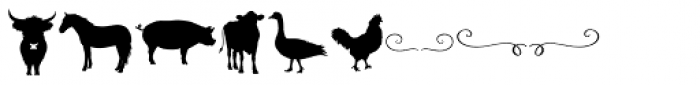 Bushel And Peck Elements Font OTHER CHARS