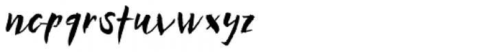 Businessland Font LOWERCASE