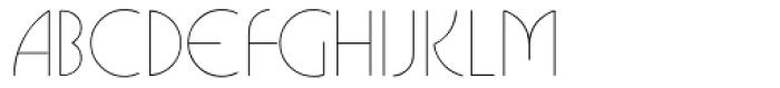 Busorama Light Font UPPERCASE