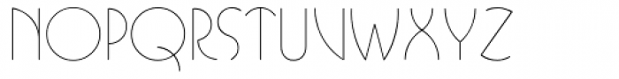 Busorama Light Font LOWERCASE