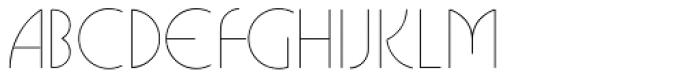 Busorama Std Light Font UPPERCASE