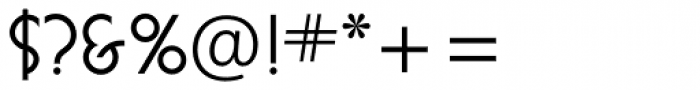 Busorama Std Medium Font OTHER CHARS