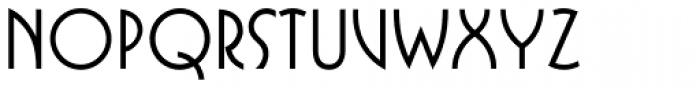 Busorama Std Medium Font UPPERCASE