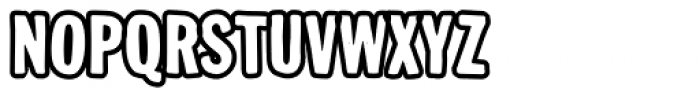 Busted IV Font UPPERCASE