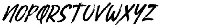 Busther Regular Font UPPERCASE