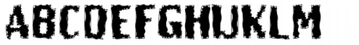 Butt Scratcher Font UPPERCASE