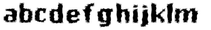 Butt Scratcher Font LOWERCASE