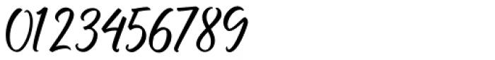 Buttercell Script Regular Font OTHER CHARS