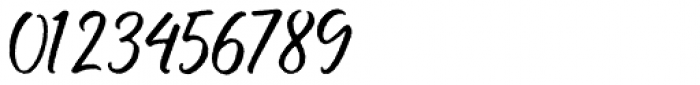 Buttercell Script Rough Font OTHER CHARS