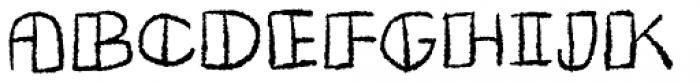 Butterfish Open Font UPPERCASE