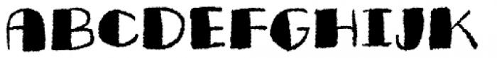 Butterfish Regular Font UPPERCASE