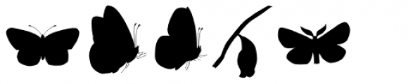 Butterfly Effect Font UPPERCASE