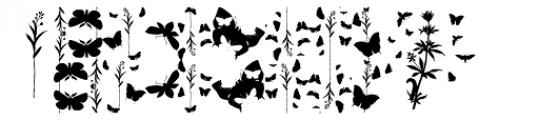 Butterfly Effect Font LOWERCASE