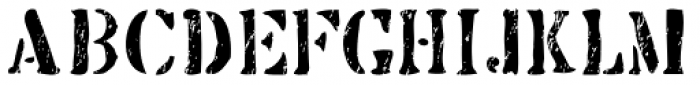 Butterworth Scratch Font LOWERCASE