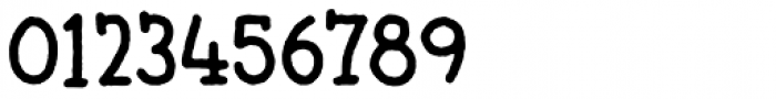 Butterzone Regular Font OTHER CHARS